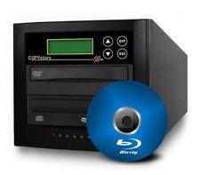Copystars Blu Ray DVD CD Duplicator 16x 1-1 BDXL LG MDisc burner drive copier