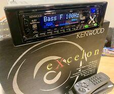 Old School Car Audio! Kenwood Excelon 'Mask' Kdc-x715 Cd Receiver,eq,sq,rare!