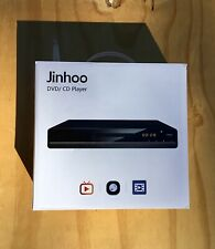 Jinhoo DVD Player for TV, DVD CD Recorded Discs Player w/ HDMI (Home) - New