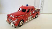 CORGI 1951 Seagrave Sedan San Francisco Turbo Chief Fire Pumper FD