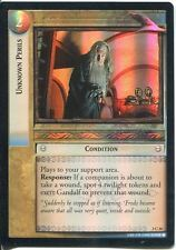 Lord Of The Rings CCG Foil Card RotEL 3.C36 Unknown Perils