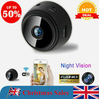Mini Spy Camera Wireless Wifi IP Home Security HD 1080P DVR Night Vision Remote@