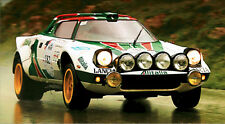 Lancia Stratos Alitalia Monte Carlo Rally XL 1 Piece Glossy Poster **UK SELLER**