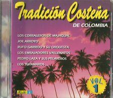 Tradicion Costena Volume 1 Latin Music CD