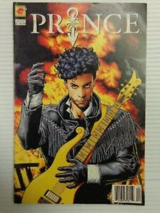 VINTAGE NEW PIRANAH MUSIC 1991 BY DC COMICS PRINCE: ALTER EGO COMIC BOOK