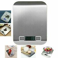 Waage LCD Digital Waage 1-5000g Lebensmittelgewicht Postwaage Küche