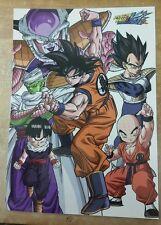 Dragon Ball Z KAI Poster Poster 11x17 laminated DBZ Anime.