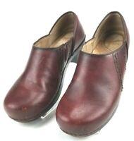 Dansko Brown Leather Slip-On Clogs Shoes  EUR 38 / US 7.5-8