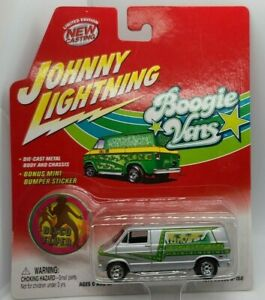 Johnny Lightning * Boogie Vans * 1976 Dodge D-150 * Disco Fever *