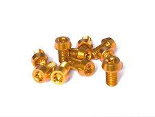Alloy bolts orange 10 Stück Aluminium Schrauben 7075er M5x10 mit T25 Torx