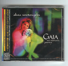 CD Olivia Newton-John GAIA Japan release OBI Polystar Geronimo 1996 mint ガイア