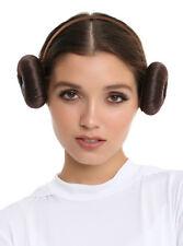 Disney Star Wars Princess Leia Hair Headband Buns Cosplay Costume Dress Up NWT
