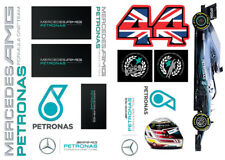 Mercedes F1 HAMILTON 2018 CHAMPION Sticker Sheet / A4 / AMG Petronas /Motorsport