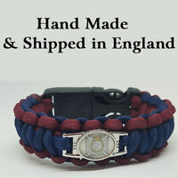 Duke of Edinburgh Royal Regiment (DOERR) Badged Survival Bracelet Tactical Edge