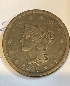 1842 United States Large Cent