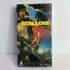 Rambo First Blood SEALED VHS Stallone NEW Rare (Carolco Home Video)