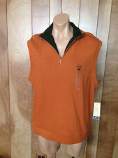 MEN'S DOCKERS GOLF VEST-SIZE: LARGE