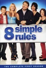 8 Simple Rules: The Complete First Season [3 Discs] (2007, DVD NEW)