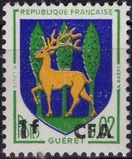 REUNION CFA 342 ** MNH Armoirie Guéret écu Wappe coat of arms écu cerf Hirsch