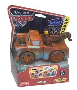 Disney Pixar Cars Mater Shake N Go 2006 World of Cars Fisher Price NEW