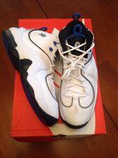 classic fit 54717 c56dd Nuevas Tenis De Baloncesto Nike Air Penny II Blanco Azul Real Talla 6Y GS  820249