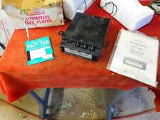 NOS In OEM Box Realistic Stereo 8 Automotive Car 8-Track Tape Player 12-1819