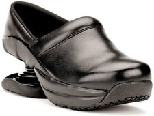 Z-Coil Toffler Clog FW-K4002 Women's size 9, Black Leather