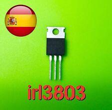 IRL3803 L3803 Irlb3803 power Mosfet to-220  envío rápido desde España