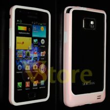 Cover Bumper Pink for SAMSUNG Galaxy S2 I9100 silicone