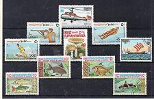 Kampuchea Valores del año 1985-87 (CW-521)