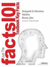 Studyguide for Elementary Statistics by Bluman, Allan, ISBN 9780077359423 by...