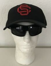 Team Trojan USC Trojans Black With RED SC Lettering Hat Size 7 3/4