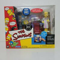 Playmates The Simpsons BURNS MANOR PJ MR BURNS World of Springfield PlaySet 2002