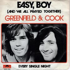 7inch GREENFIELD & COOK easy, boy HOLLAND EX/VG++ 1973