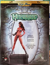 CLAYTON MOORE/TOP COW WITCHBLADE LIMITED EDITION STATUE #1121 OF 1500