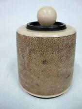 SHAGRINE TABLE LIGHTER C1950'S BY DORSET LIGHT INDUSTRIES