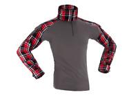 Flannel Combat Shirt red INVADER GEAR