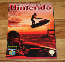 1997 Vintage Club Nintendo Magazine Wave Race 64 Kirby Super Star Super Mario 64