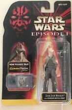 JAR JAR BINKS Hasbro Star Wars: Episode 1 Action Figure W/Gungan Battle Staff