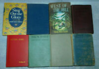 Vintage Western Historical Fiction Family Diaries Adventure New England Lot 8