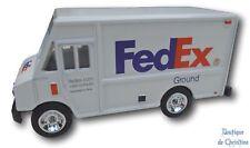 """FedEx Ground Die-Cast Metal Toy Step Van Delivery Truck Scale 1:64 - 3"""" Length"""