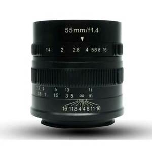 7Artisans 55mm F1.4 Sony New Agsbeagle