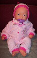 "My Sweet Love 16"" Interactive Baby Doll Original Pacifier Sucks  Baby Sounds GUC"