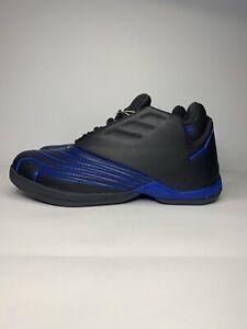 NEW Adidas T-Mac 2 Restomod Black Royal Blue 2021 Men's Size 10.5 Tracy McGrady