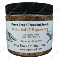 Papio Creek Buck's End 17 Trapping Bait 16 oz Wolf, Yote, Fox, Cat Freeze Proof