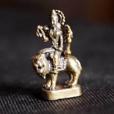 Hindu Goddess Mother Durga Devi Miniature Figurine Amulet Sacred Power Lucky DBZ