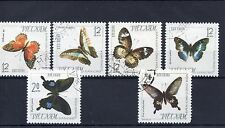 Butterflies Used Asian Stamps