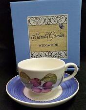 WEDGWOOD SARAH'S GARDEN JUMBO CUP & SAUCER *NEW OLD STOCK*