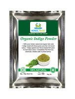 "100g Pesticide Free Organic Indigo Powder Natural Hair Colour ""Black Henna"" Dye"