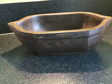 Vintage Antique Very Large Cast Iron Mortar Pot Rajasthan India 4.8kgs Grinder